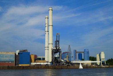 Kohle Heizkraftwerk Wedel