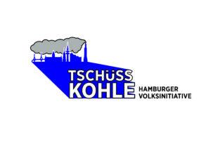 Logo Tschüss Kohle Schriftzug rechts CMYK